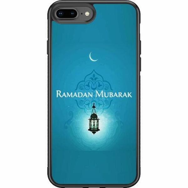 Apple iPhone 8 Plus Soft Case (Svart) Ramadan Mubarak