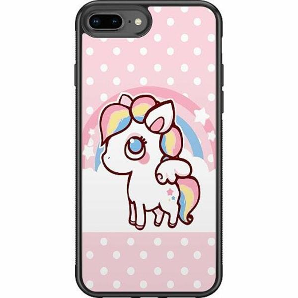 Apple iPhone 7 Plus Soft Case (Svart) UNICORN