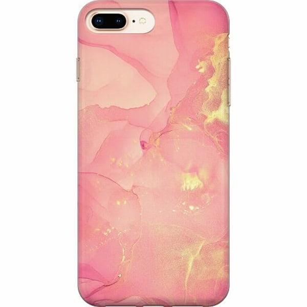 Apple iPhone 8 Plus TPU Mobilskal Blushing Bliss