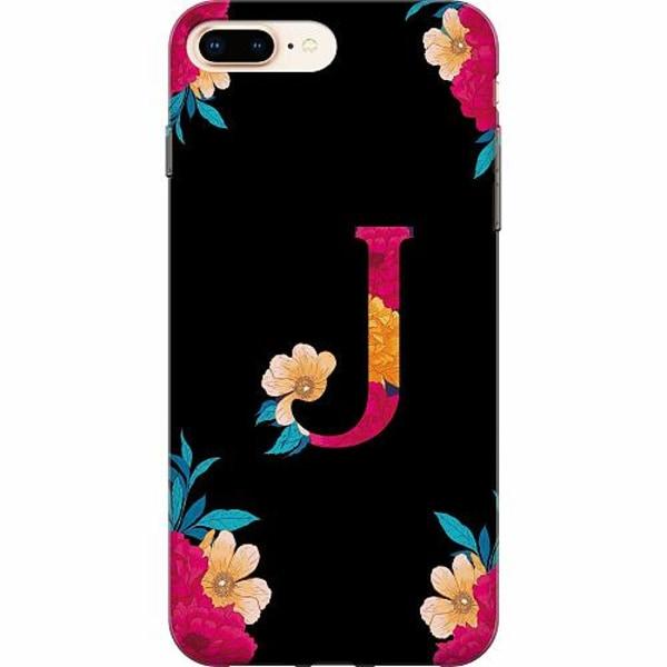 Apple iPhone 8 Plus TPU Mobilskal Bokstaven - J