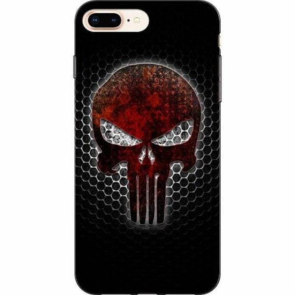 Apple iPhone 8 Plus TPU Mobilskal Dödskalle