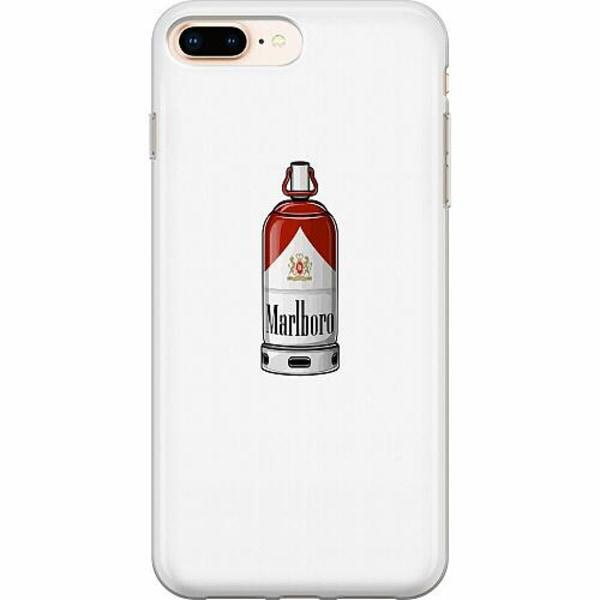 Apple iPhone 8 Plus TPU Mobilskal Smoke And Spray