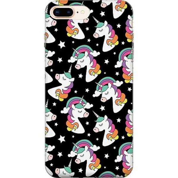 Apple iPhone 8 Plus TPU Mobilskal Unicorn