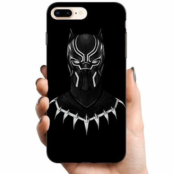 Apple iPhone 8 Plus TPU Mobilskal Black Panther