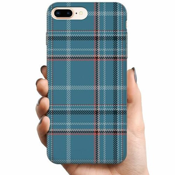 Apple iPhone 8 Plus TPU Mobilskal Cotton Fence