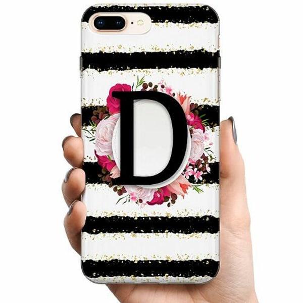 Apple iPhone 8 Plus TPU Mobilskal D