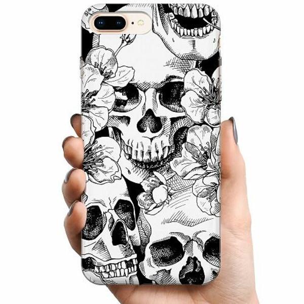 Apple iPhone 8 Plus TPU Mobilskal Döskalle