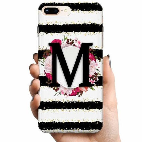 Apple iPhone 8 Plus TPU Mobilskal M