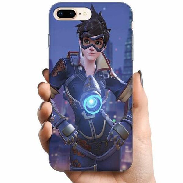 Apple iPhone 8 Plus TPU Mobilskal Overwatch Tracer