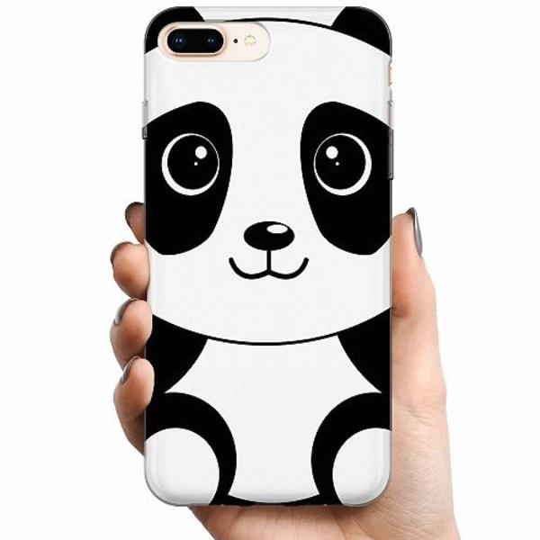 Apple iPhone 8 Plus TPU Mobilskal Panda