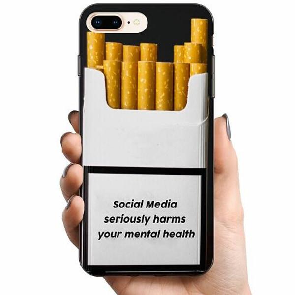 Apple iPhone 8 Plus TPU Mobilskal Social Media Harms...