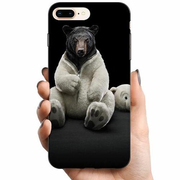 Apple iPhone 8 Plus TPU Mobilskal WTF