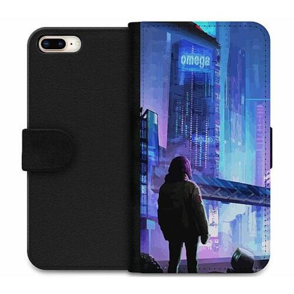 Apple iPhone 8 Plus Wallet Case Cyberpunk 2077