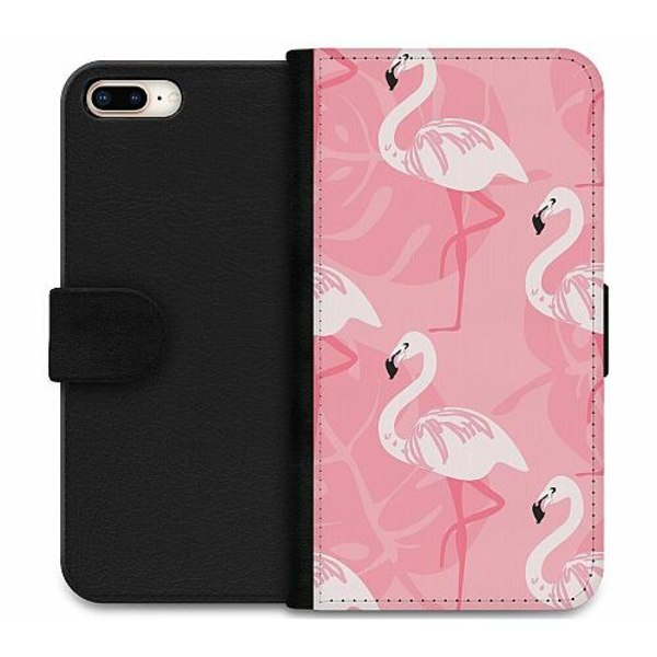 Apple iPhone 8 Plus Wallet Case Flamingo