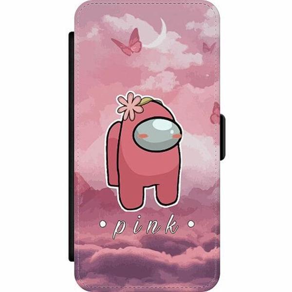 Apple iPhone 12 Pro Wallet Slim Case Among Us