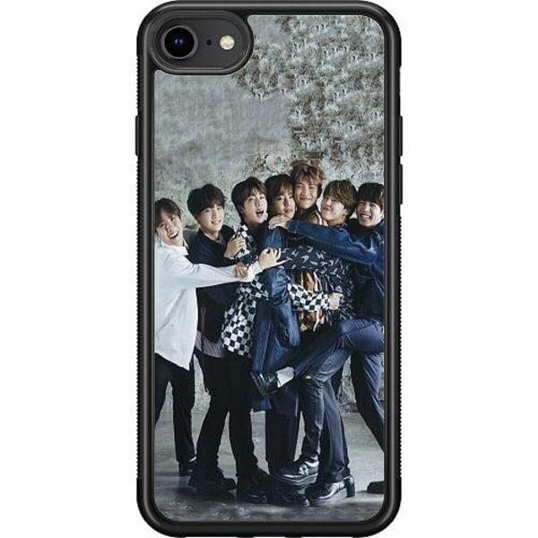 Apple iPhone SE (2020) Soft Case (Svart) K-POP BTS