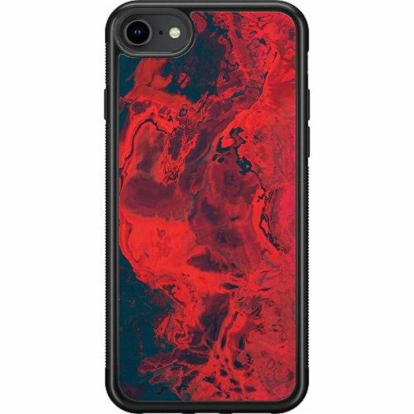 Apple iPhone SE (2020) Soft Case (Svart) Pattern