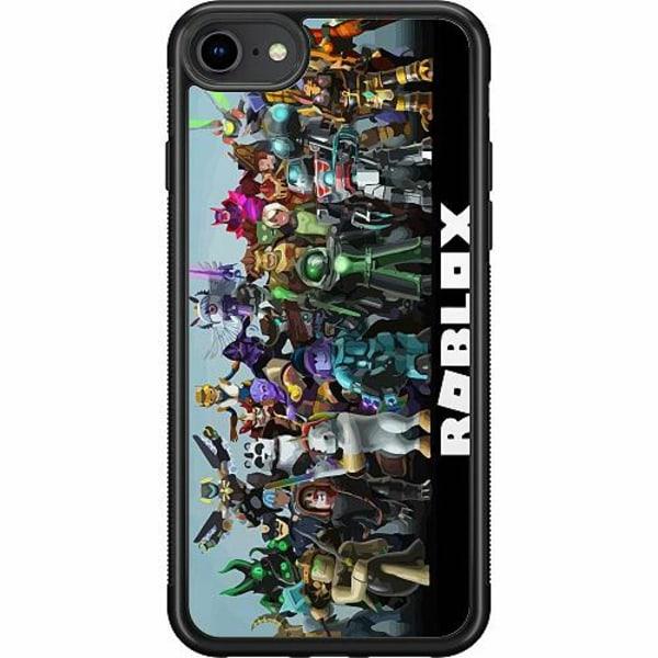 Apple iPhone SE (2020) Soft Case (Svart) Roblox