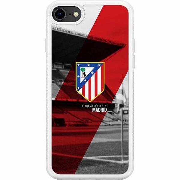 Apple iPhone 8 Soft Case (Vit) Club Atlético de Madrid S.A.D