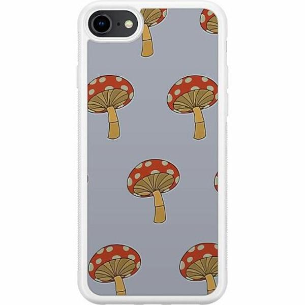 Apple iPhone 8 Soft Case (Vit) Flugsvamp