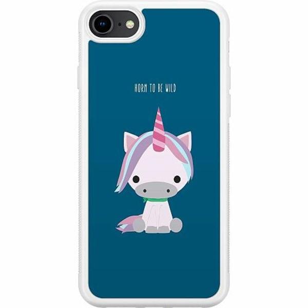 Apple iPhone 7 Soft Case (Vit) UNICORN