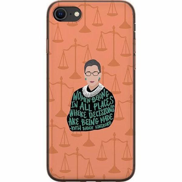 Apple iPhone SE (2020) Mjukt skal - Ruth Bader Ginsburg (RBG)