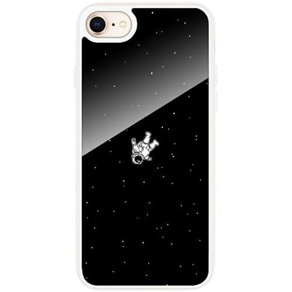 Apple iPhone 7 Transparent Mobilskal med Glas Lost in Space