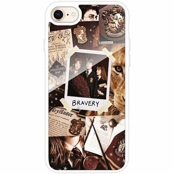 Apple iPhone 8 Vitt Mobilskal med Glas Harry Potter