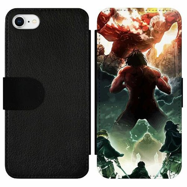 Apple iPhone 7 Wallet Slim Case Attack On Titan
