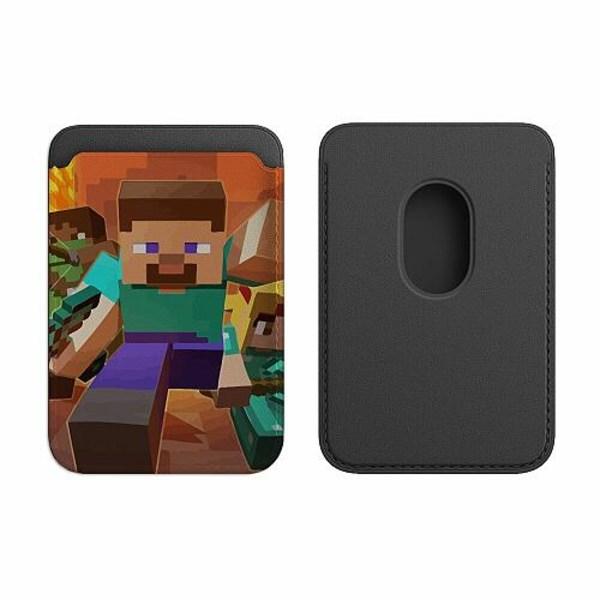 Apple iPhone 12 Pro Korthållare med MagSafe -  MineCraft