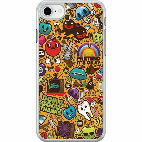 Apple iPhone SE (2020) Hard Case (Transparent) Stickers