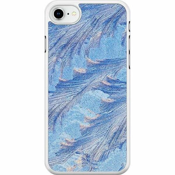 Apple iPhone SE (2020) Hard Case (Vit) Arenaceous Feathers