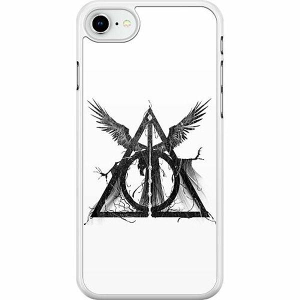 Apple iPhone SE (2020) Hard Case (Vit) Deathly Hallows