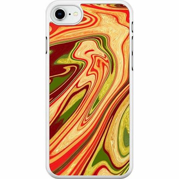 Apple iPhone SE (2020) Hard Case (Vit) Poolywhirl