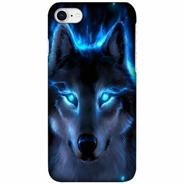 Apple iPhone 7 LUX Mobilskal (Matt) Wolf