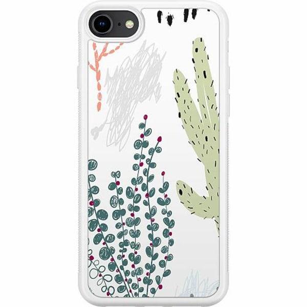 Apple iPhone 7 Soft Case (Vit) Cactus Or Cacti