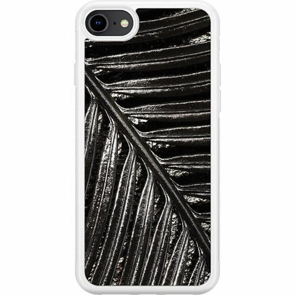 Apple iPhone 7 Soft Case (Vit) Flow Of Time