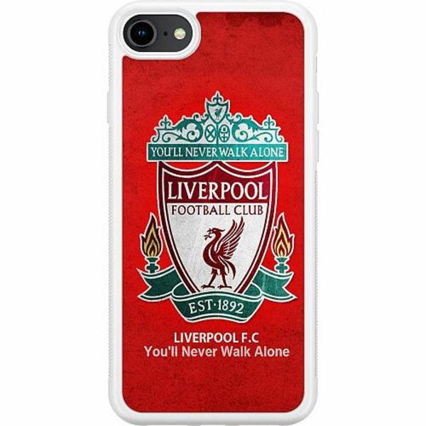 Apple iPhone 8 Soft Case (Vit) Liverpool