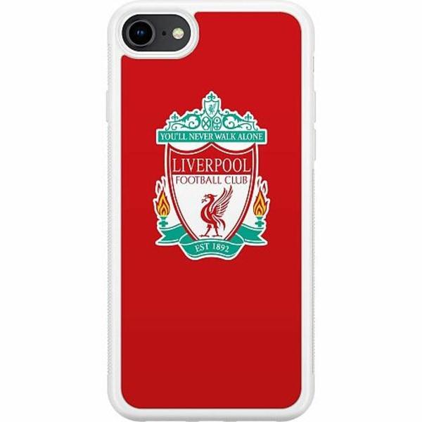 Apple iPhone 7 Soft Case (Vit) Liverpool