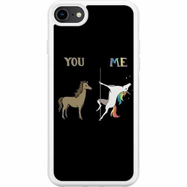 Apple iPhone SE (2020) Soft Case (Vit) Me