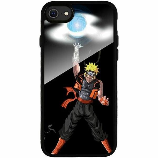 Apple iPhone SE (2020) Svart Mobilskal med Glas Naruto