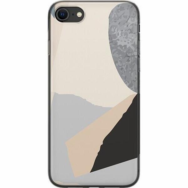 Apple iPhone SE (2020) Mjukt skal - Cut In Half