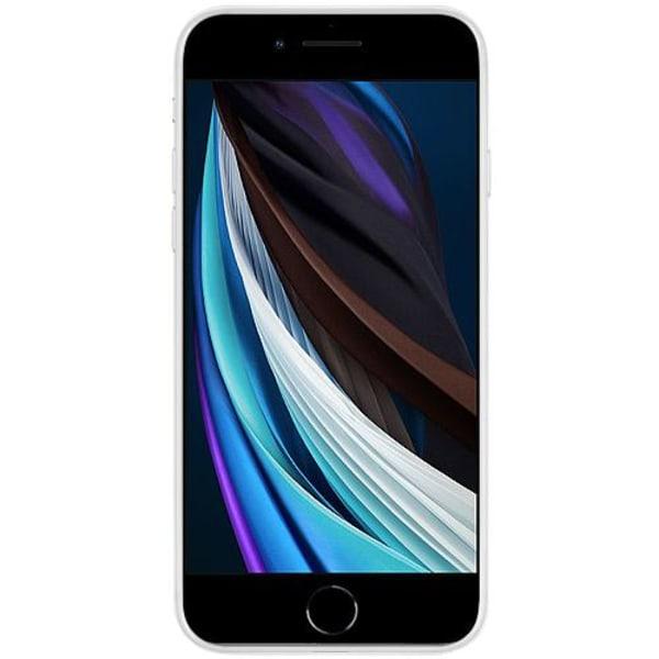Apple iPhone SE (2020) Transparent Mobilskal med Glas COOKIES