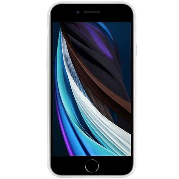 Apple iPhone SE (2020) Vitt Mobilskal med Glas Pocket Minion
