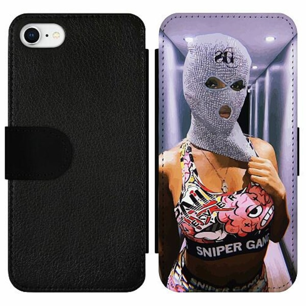 Apple iPhone 7 Wallet Slim Case Pussy Riot