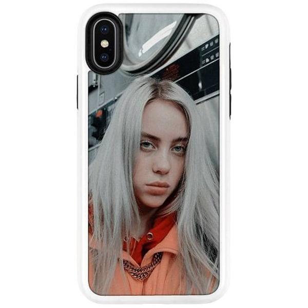 Apple iPhone X / XS Duo Case Vit Billie Eilish