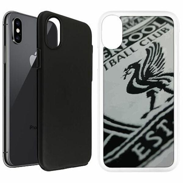 Apple iPhone X / XS Duo Case Vit Liverpool L.F.C.