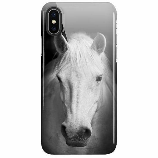 Apple iPhone X / XS LUX Mobilskal (Glansig) Häst