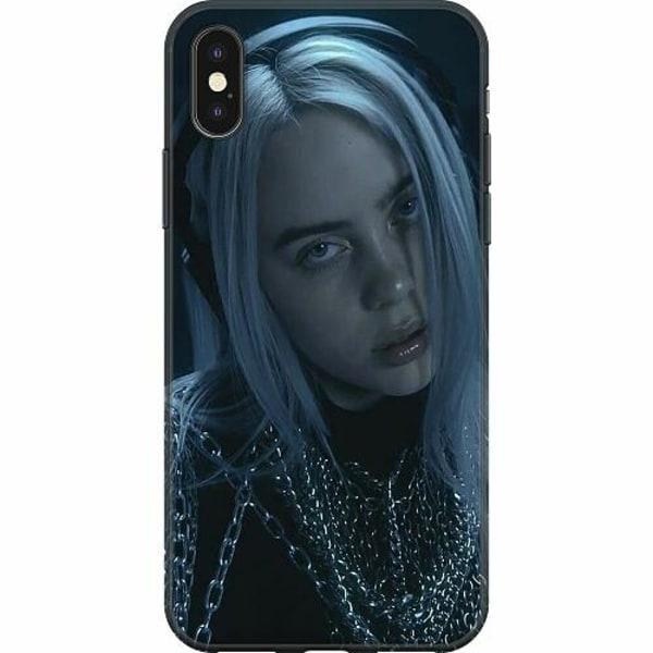 Apple iPhone X / XS Mjukt skal - Billie Eilish 2021