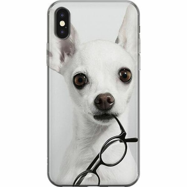 Apple iPhone X / XS Mjukt skal - Chihuahua